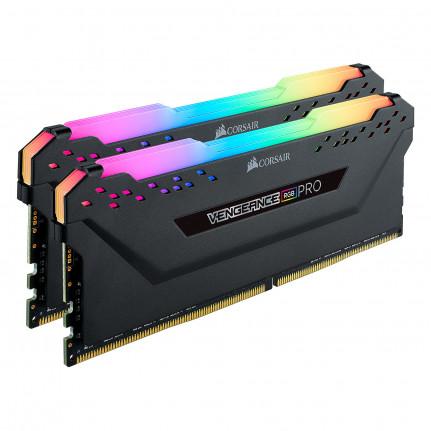 CORSAIR Vengeance RGB PRO Series 64 Go (2x 32 Go) DDR4 3200 MHz CL16