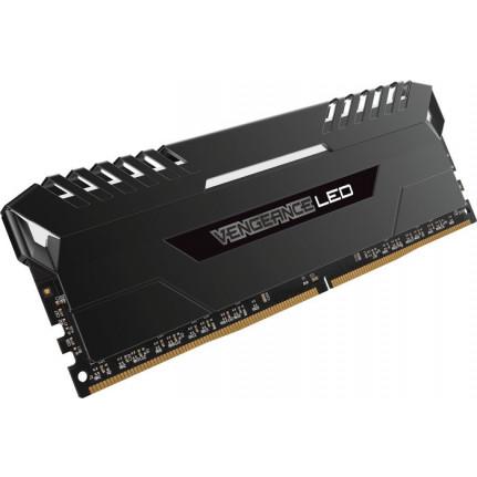 CORSAIR D432GB 3000-16 Vengeance LED wh K2 COR