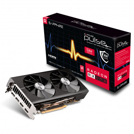 SAPPHIRE Sapphire PULSE Radeon RX 570 8G G5 Lite