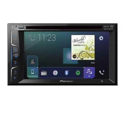 "Pioneer Pioneer AVH-Z2000BT - Lecteur multimédia CD / DVD / DivX MP3 écran tactile 6.2"", USB, compatible Bluetooth, Android, iPod/iPhone, AppRadio Mode+ Waze et Apple CarPlay"