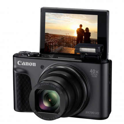 CANON PowerShot SX730 HS Noir Travel Kit
