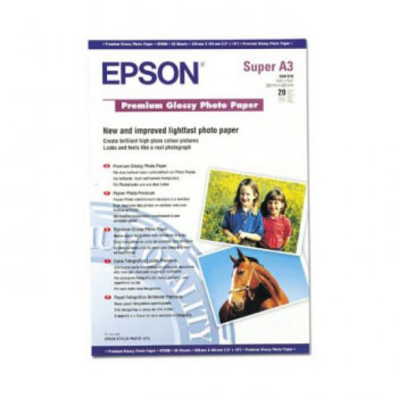 EPSON C13S041316 - Papier Photo Premium A3+ 255G/M² 20FNS