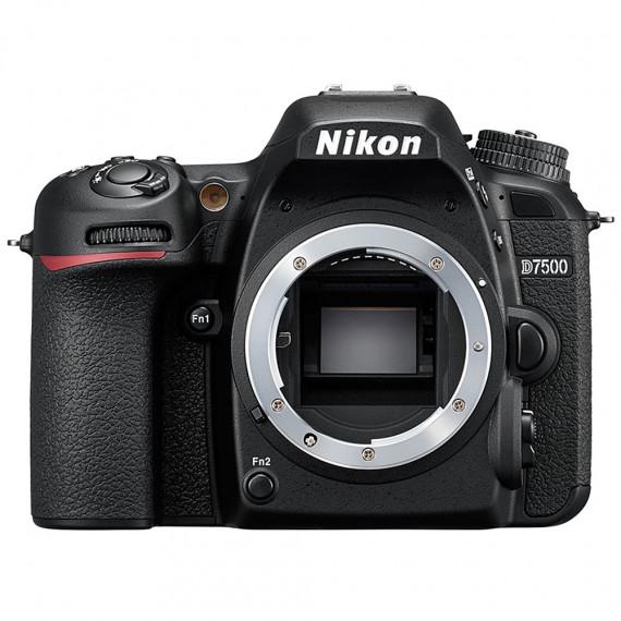 "Nikon Nikon D7500 (boîtier nu) - Réflex Numérique 20.9 MP - Ecran inclinable 3.2"" - Vidéo Ultra HD - Wi-Fi"