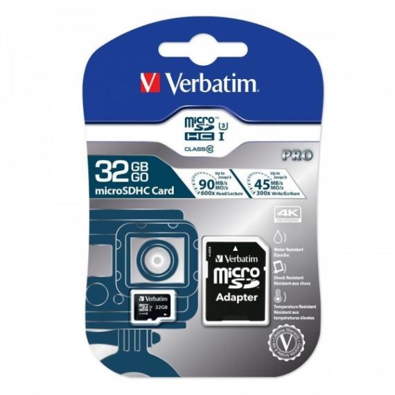 VERBATIM Pro 32GB microSDHC