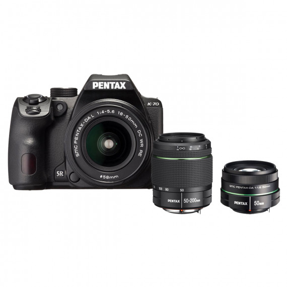 Pentax K70 Triple Kit