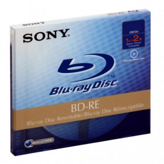 SONY BD-R DL 50 GO 2X (BOITER STANDARD)