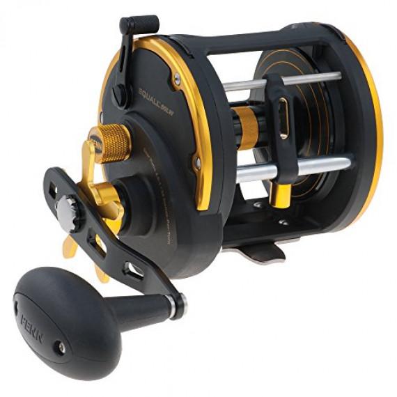 Penn PENN Squall Level Wind moulinet à tambour tournant pour la pêche lourde en mer, pêche au jig, pêche sur épave, lieu, pagre, denti, sériole, requin