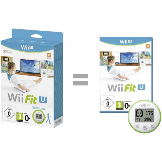 Wii Fit U + Fit Meter (Wii U) - Jeu + Capteur d'activité
