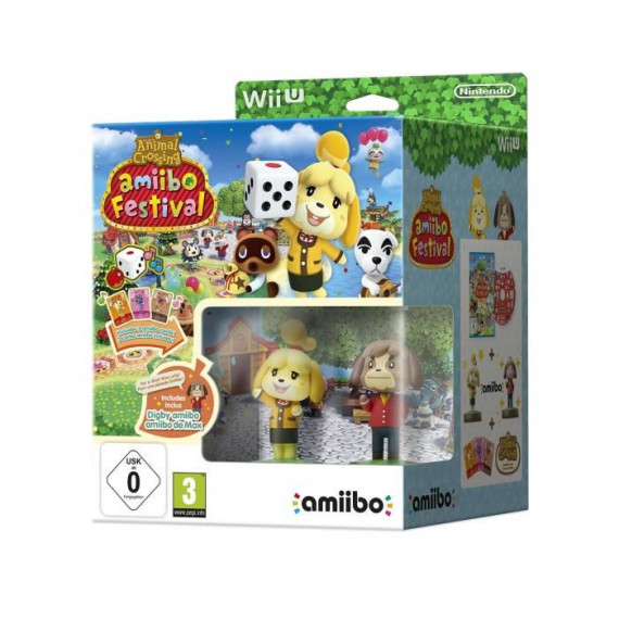 NINTENDO ANIMAL CROSSING WII U
