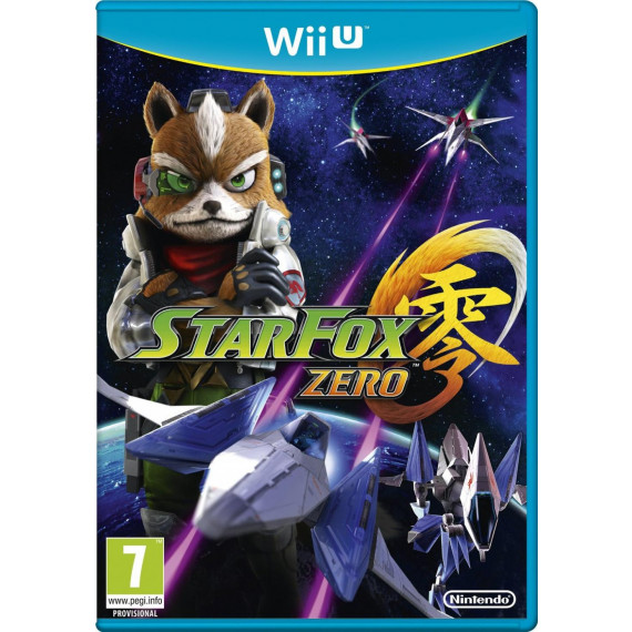 NINTENDO STAR FOX ZERO PREM EDIT WII U