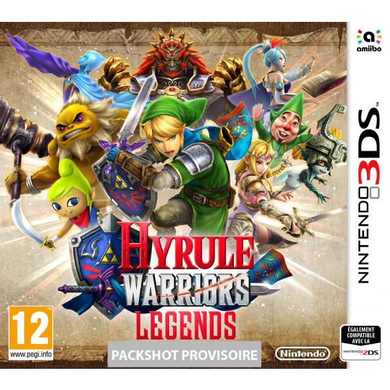 NINTENDO HYRULE WARRIORS LEGENDS 3DS