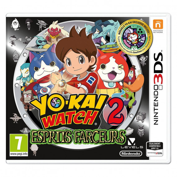 Nintendo Yo-Kai Watch 2 : Esprits Farceurs - Edition Spéciale (Nintendo 3DS)