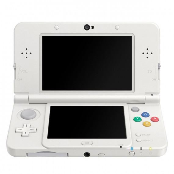 Nintendo Nintendo New 3DS (blanche) - Console de jeux-vidéo portable tactile 3D à deux écrans