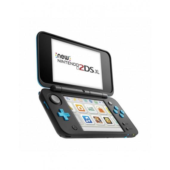 Nintendo Nintendo New 2DS XL (Noir/Turquoise) - Console de jeux-vidéo portable tactile à deux écrans larges (Pré-commande - Sortie le 28 Juillet 2017)