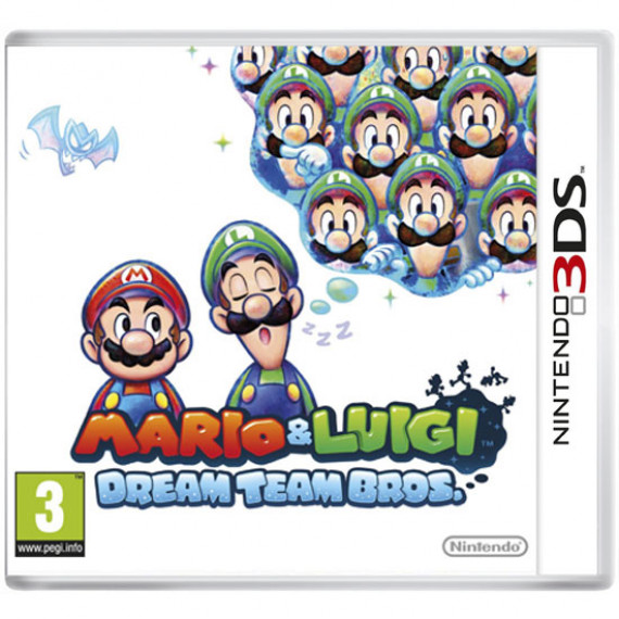 Mario & Luigi Dream Team Bros (Nintendo 3DS/2DS)