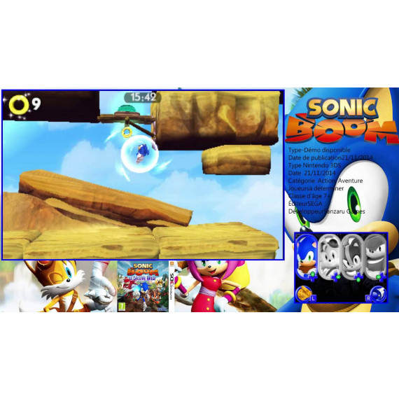 Nintendo Sonic Boom : Le Cristal Brisé (Nintendo 3DS/2DS)