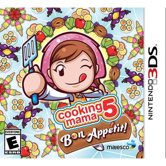 Nintendo Cooking Mama 5 : Bon appétit ! (Nintendo 3DS/2DS)