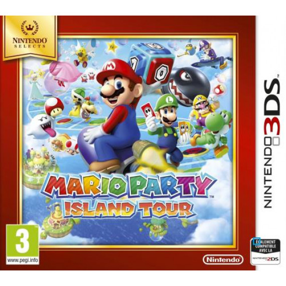NINTENDO MARIO PARTY ISLAND TOUR 3DS