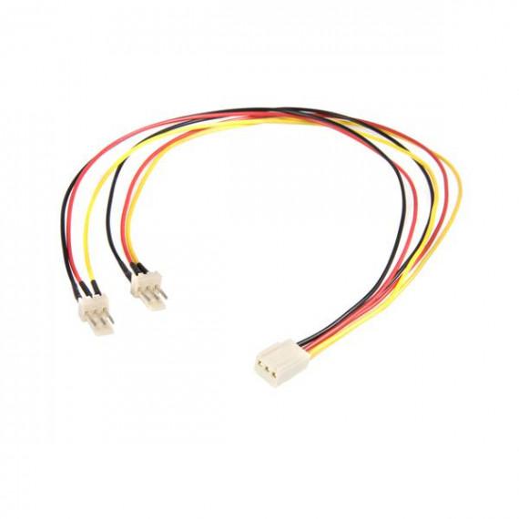 STARTECH Câble d'alimentation en Y pour ventilateur Molex de 30 cm