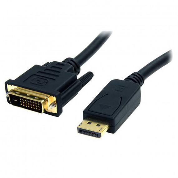 STARTECH Adaptateur passif DisplayPort vers DVI-D (Mâle/Mâle) - 1.8 mètre