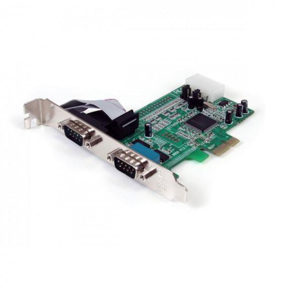 STARTECH Carte PCI Express avec 2 ports DB-9 - UART 16550