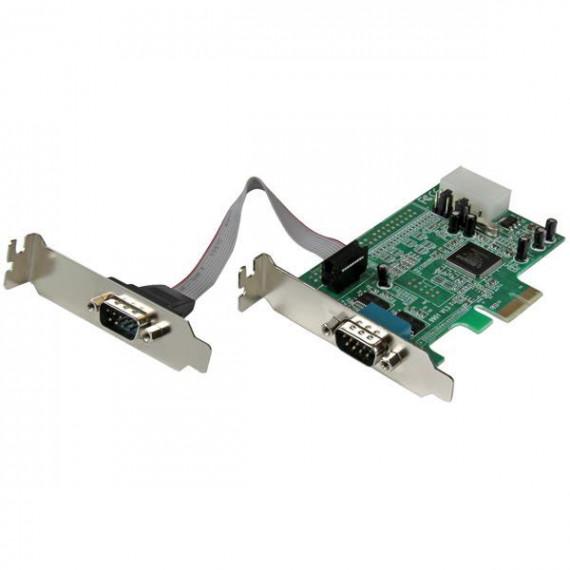 STARTECH Carte PCI-E avec 2 ports DB-9 - UART 16550