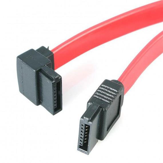 STARTECH Câble SATA à angle gauche compatible SATA 3.0 (30 cm)