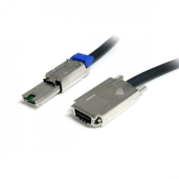 STARTECH Câble SAS (SFF-8470) à vis de serrage vers mini SAS (SFF-8088) - 2 m
