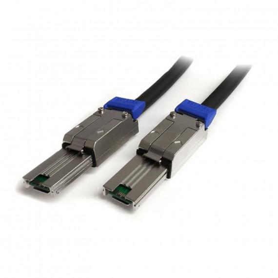 STARTECH Câble mini SAS (SFF-8088) avec verrouillage (Mâle/Mâle) - 1 m