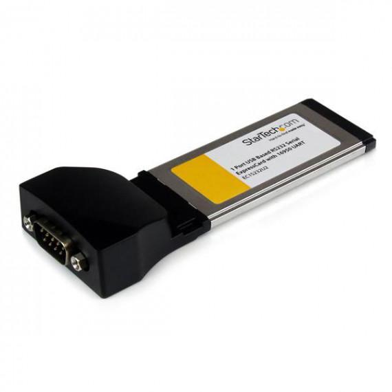 STARTECH Carte contrôleur ExpressCard vers port série RS232 DB9 avec 16950- parUSB