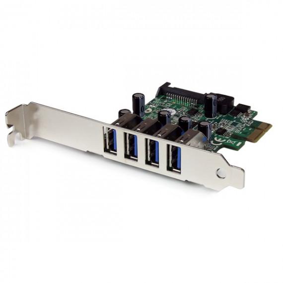 STARTECH CARTE CONTRÔLEUR PCI-E LP (4 PORT USB 3.0)