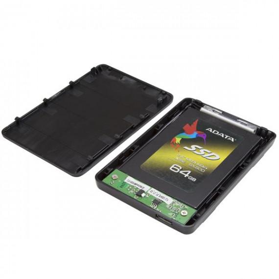 """STARTECH StarTech.com Boîtier Externe pour Disque Dur 2.5"""" SATA III et SSD sur port USB 3.0 avec Support UASP"""