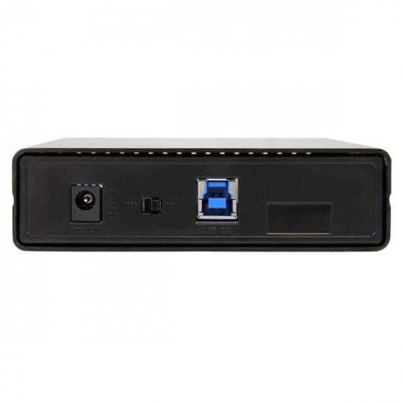 """STARTECH StarTech.com Boîtier Externe pour Disque Dur 3.5"""" SATA III sur port USB 3.0 avec Support UASP en Aluminum coloris Noir"""