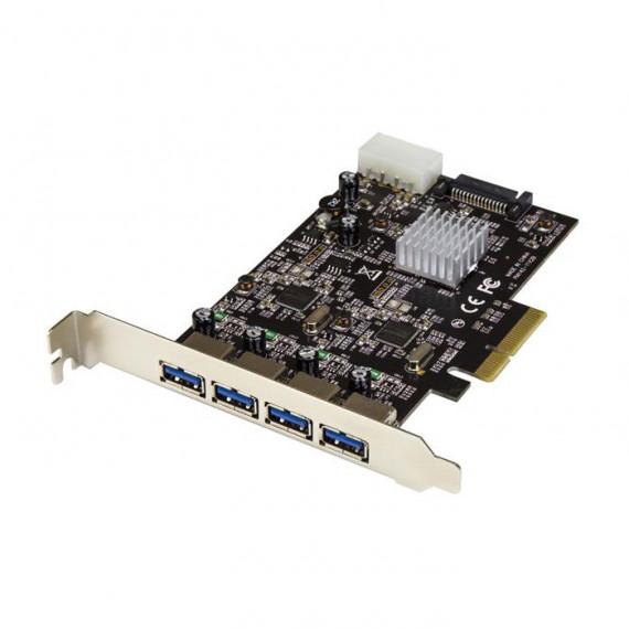 STARTECH Carte contrôleur PCI-E (4 ports USB 3.1 Type A)