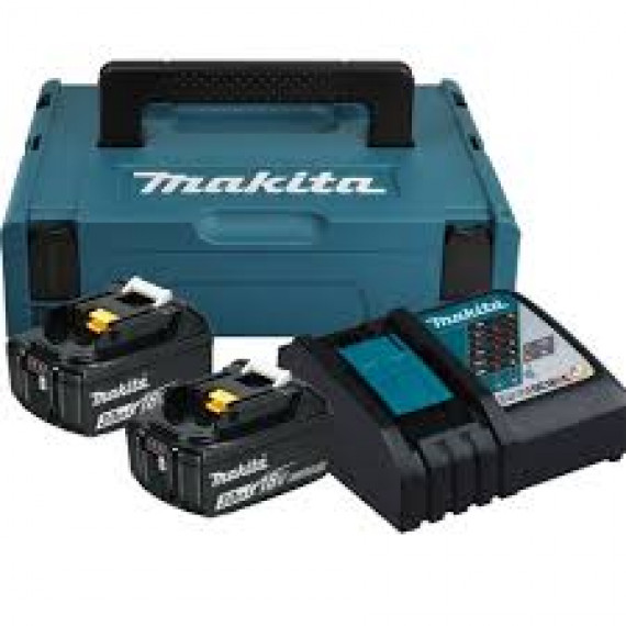 Batteries + chargeur Makita Kit 197952-5 18Volt
