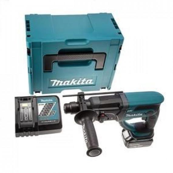 Makita Perforateur burineur SDS+ DHR202RM1J avec 1 batterie 18V 4Ah Li-ion et coffret Makpac
