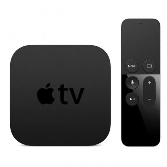 APPLE Apple TV 4e génération 32 Go (MR912FD/A) - Lecteur multimédia Haute Définition Wi-Fi Bluetooth AirPlay et Siri Remote