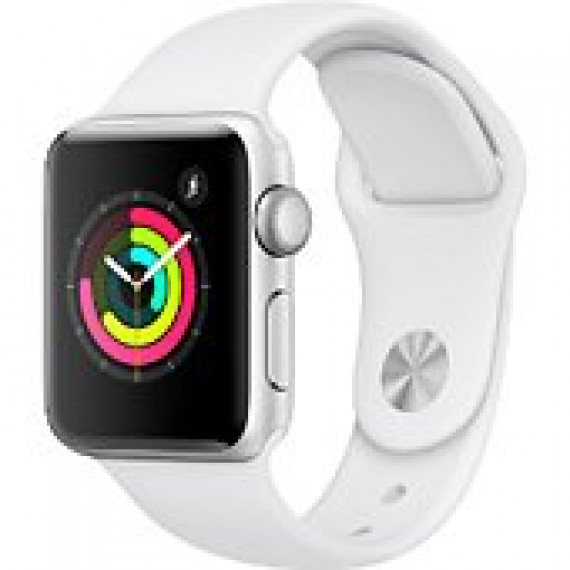 APPLE Montre connectee  Apple watch serie 3 blanche 38mm mtey2zd/a