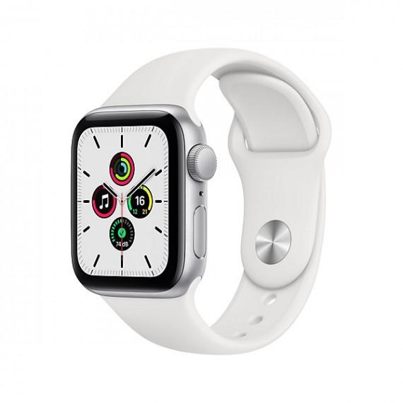 APPLE Montre connectée  Apple Watch SE 40mm Argent/Blanc