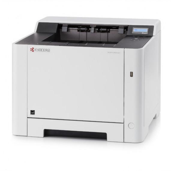 Imprimante Laser Kyocera ECOSYS P5021CDN gris/noir, USB/LAN