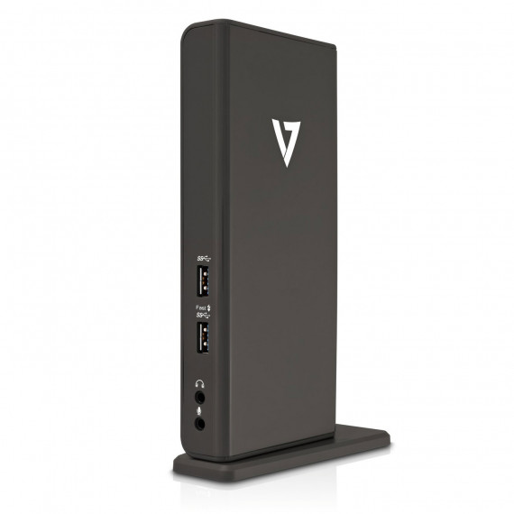 V7 V7 Station d'accueil universelle - Station d'accueil USB 3.0 (USB 2.0, DVI, HDMI, GbE)