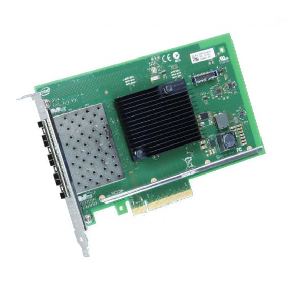 INTEL X710-DA4FH 10GbE Server Adapter  X710-DA4FH 10GbE Ethernet Server Adapter 4 Ports Direct Attach Dual Port Copper PCIe 3.0