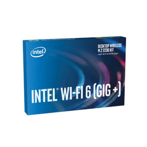 INTEL NIC WI-FI 6 AX200 Desktop Kit  NIC WI-FI 6 AX200 2230 2x2 AX+BT vPRO Desktop Kit