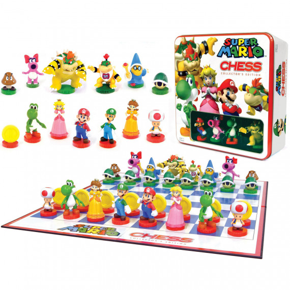 Nintendo Nintendo jeu d'échec Mario - Jeu d'échec Nintendo Mario