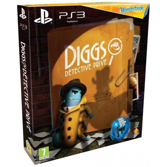 Wonderbook - Diggs : Détective privé + Wonderbook (PS3)