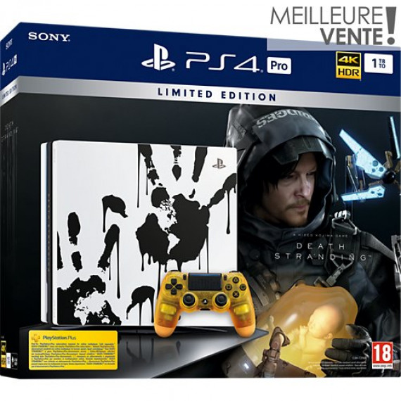 SONY Console PS4  PS4 Pro 1To Edition Death Stranding