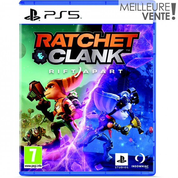 SONY Jeu PS5  Ratchet & Clank rift Apart