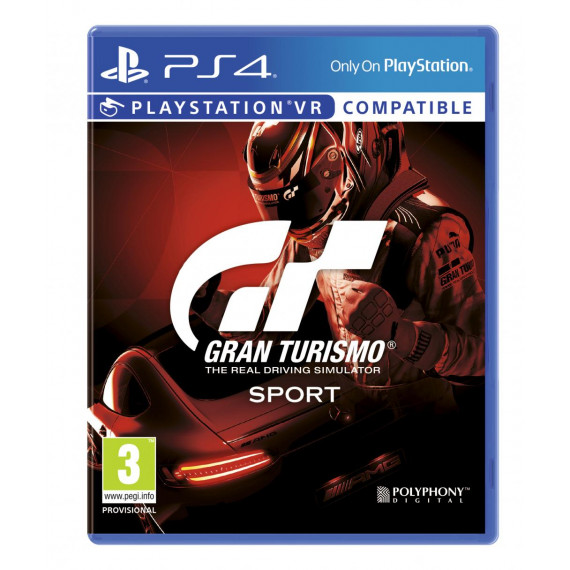 SONY PLAY GRAN TURISMO STANDARD PS4