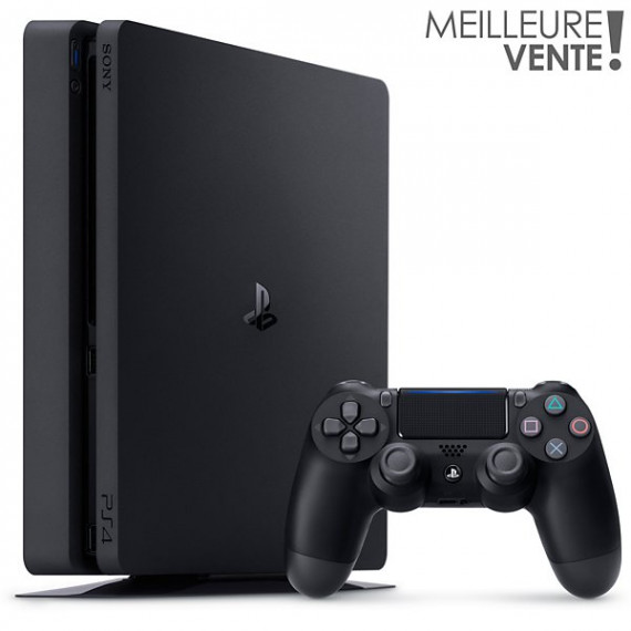 SONY Console PS4  PS4 1To Noire Reconditionnée