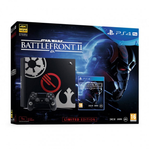 Sony Computer Entertainment Sony PlayStation 4 Pro Limited Edition (1 To) Star Wars : Battlefront II